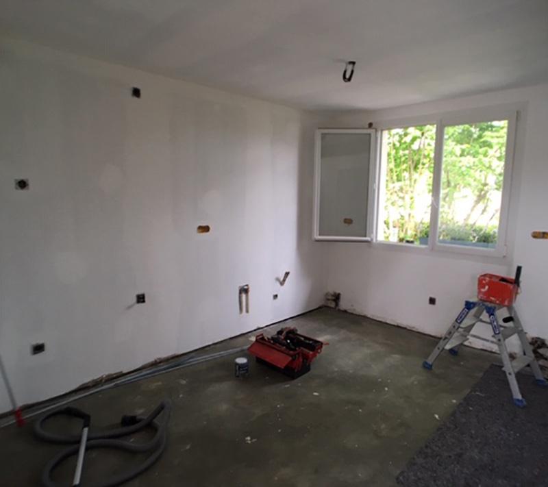 PENDANT : électricité + mise en peinture