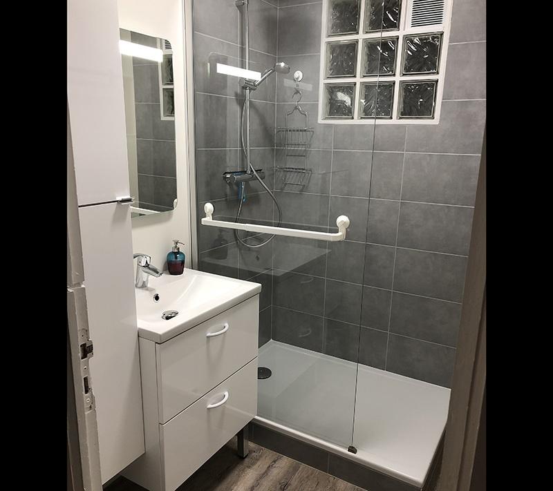 Rénovation salle de bains - RÉSULTAT